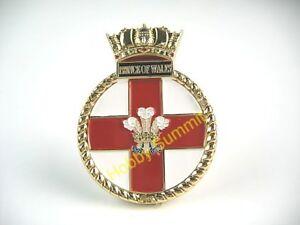 HMS PRINCE of WALES  WWII Royal Navy Battleship 1/350 1/700 Model Badge Emblem
