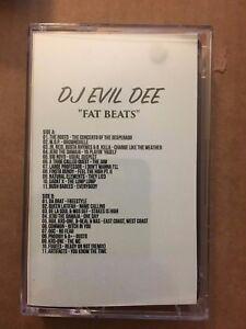 Details about DJ Evil Dee Fat Beats CLASSIC 90s Bronx NYC Hip Hop Cassette  Rap Tape Mixtape