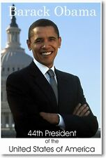 Hot Fabric Poster Young Obama Smoking American President 36x24 40x27inch Z1587