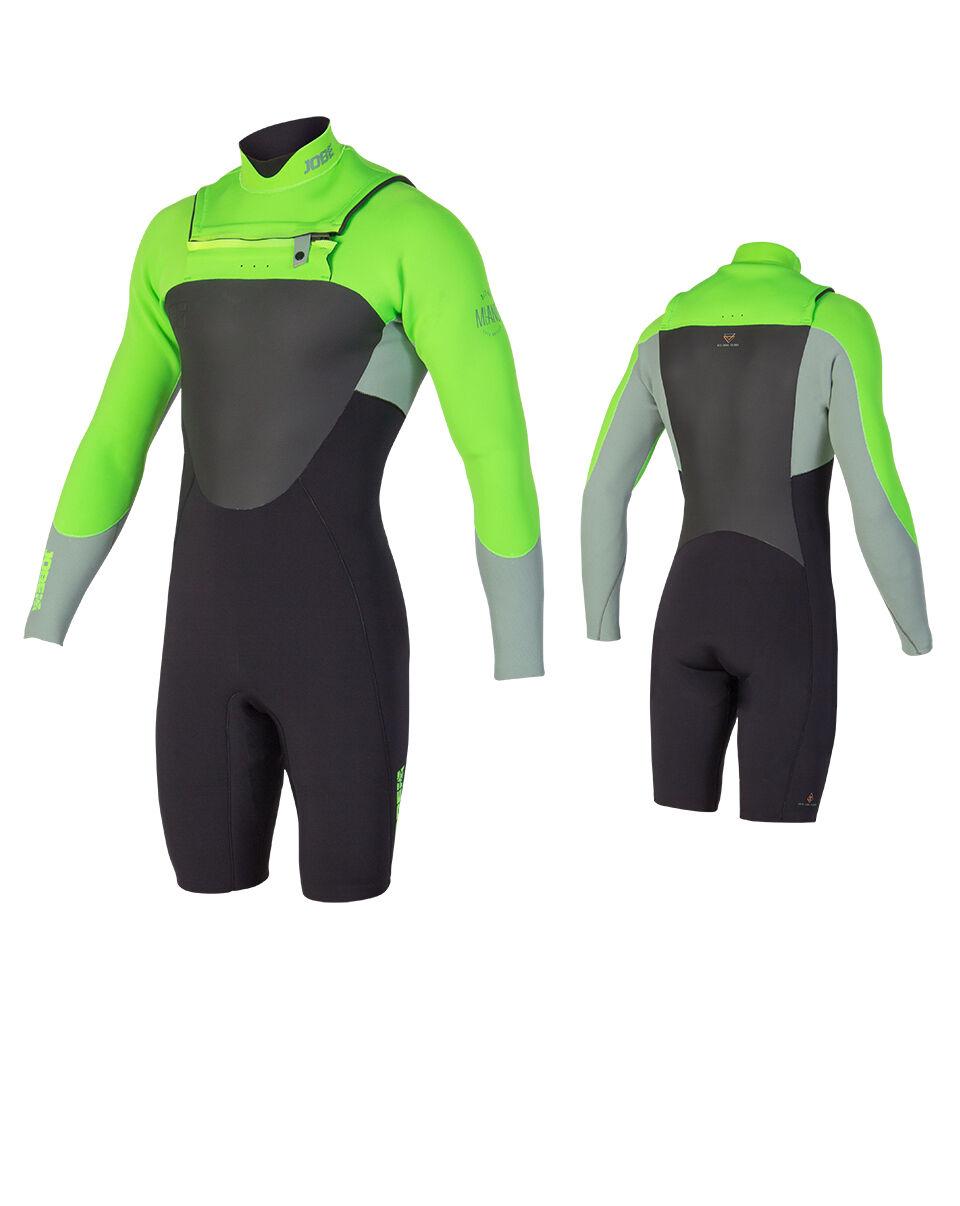Jobe Milano 32 Calce Lunghe Shorts Uomo Neoprene Surf Kite Waketavola Sci Jet