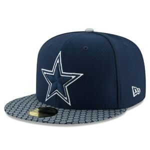 dallas cowboys fitted hats new era