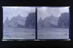 Chateau-Da-Pompadour-Correze-Auvergne-Stereo-Negativo-Su-Film-Morbido-1914