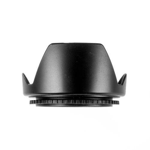 62mm oscurecidos objetivamente parasol streulichtblende Ø 62 rosca para filtros