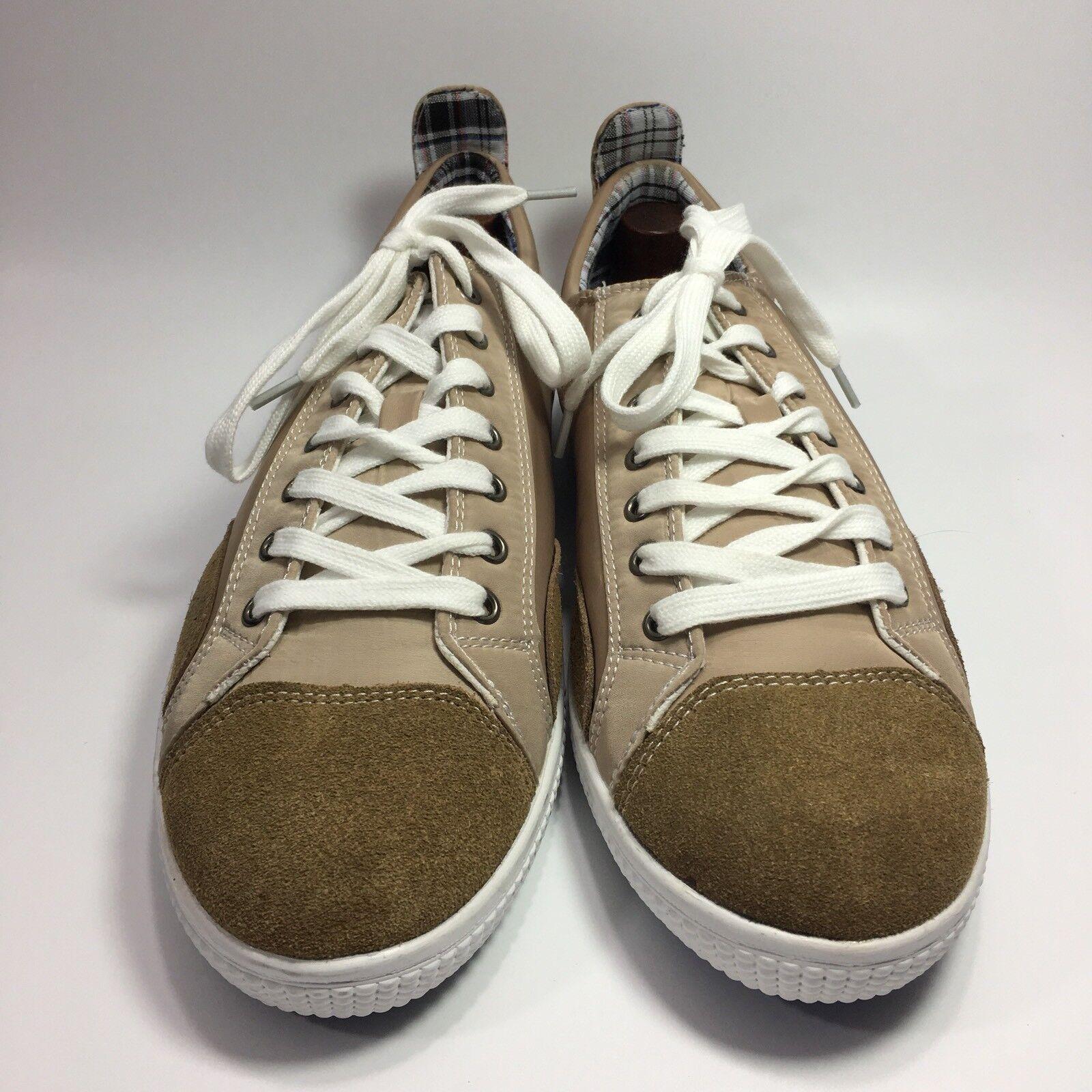 JOE'S JEANS Men's Schuhes Beige Suede/Nylon Fashion Sneakers Schuhes Men's Größe 10 NEW ccdcd2
