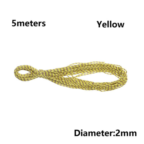 550 Rope Paracord Parachute Cord Tent Rope Survival kit For Hiking Camping UK