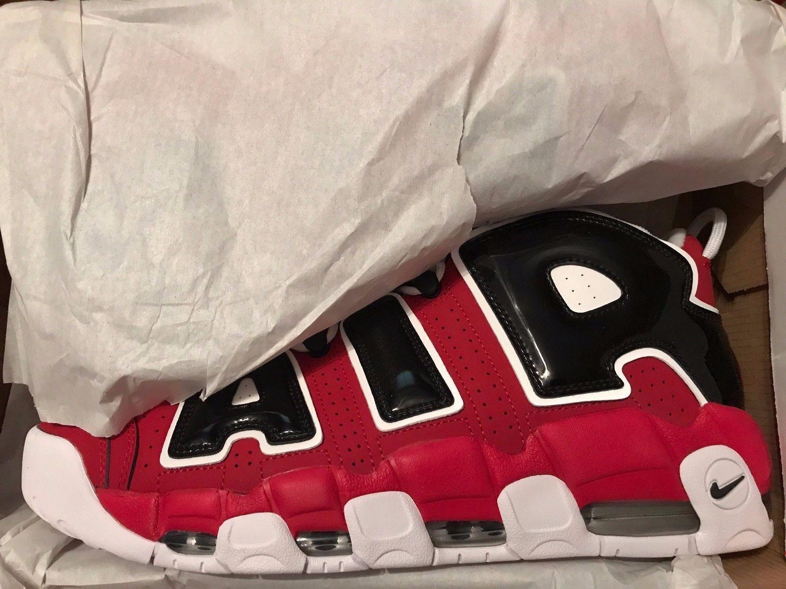 Nike air più ritmo 96 rosso - nero 921948 600 2017, chicago bulls numero 13 -