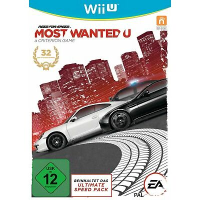Need for Speed: Most Wanted U - Nintendo Wii U (NEU & OVP!)