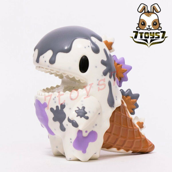 Unbox Industries x Ziqi 4  Little Dino Cookies & Cream_ Vinyl Figure _Now ZZ078T