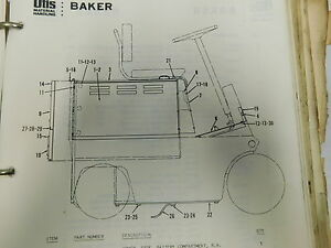 otis baker forklift ftd 060 service parts maintenance manual bookimage is loading otis baker forklift ftd 060 service parts maintenance