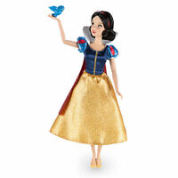 "2016 Disney Store Classic Snow White With Bluebird 12"""