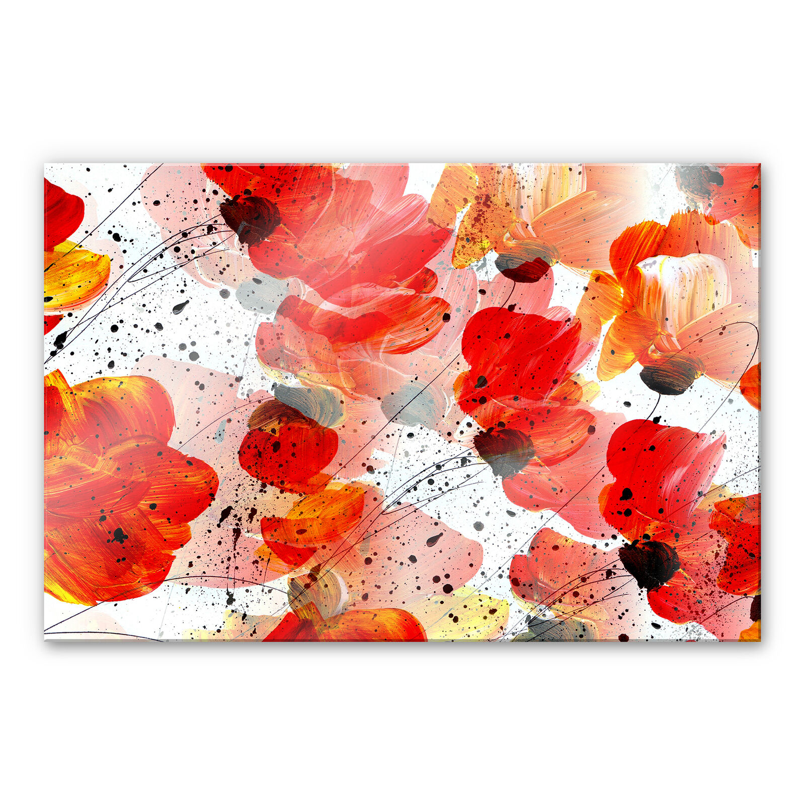 Acrylglas Acrylglasbild Niksic - Frühlingsfest bunt