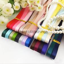 Wholesale 24PCS Phenovo Grosgrain Ribbon for Crafts DIY 6mm Mixed Colors