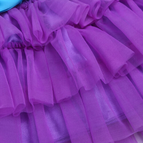 Toddler Baby Kids Girls Outfit Tutu Dress Mermaid Costume Birthday Party Clothes