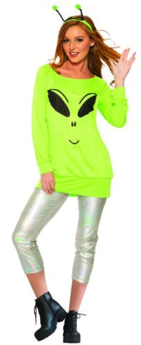 Spaced Out Womens Adult Cute Alien Halloween Costume