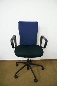 Gebrauchter-Vitra-Buerostuhl-T-Chair-mit-Ringarmlehnen-Schreibtischstuhl-bequem