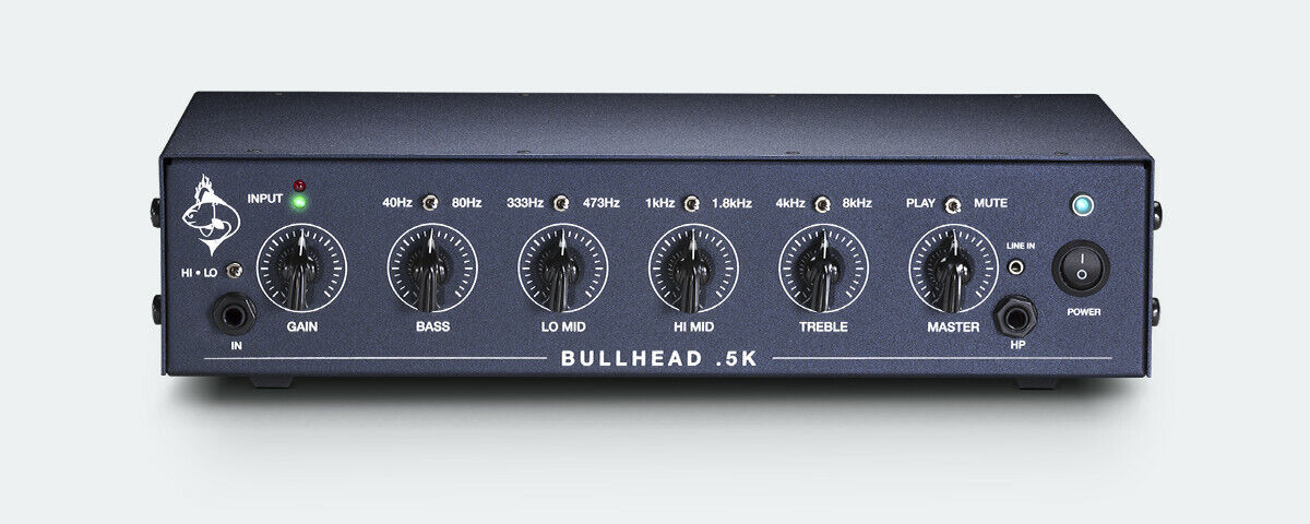 Trickfish Bullhead .5K Lightweight bass amp 700W