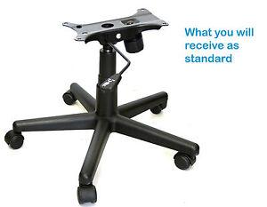 office chair repair refurbishment kit lever plastic base gas lift