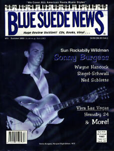 Image Is Loading Blue Suede News 51 Sonny Burgess Siegel Schwall