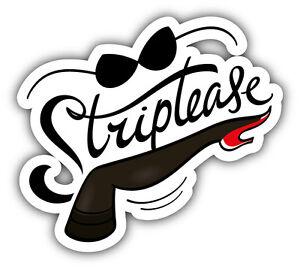 Frankly, Label strip tease