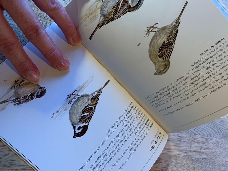 Fugle i haven, Benny génsbøl og Axel kielland , emne: dyr