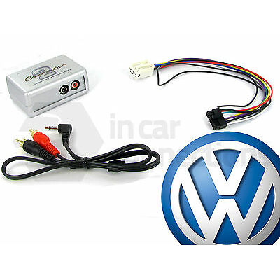 VW AUX input adaptor interface Golf Mk5 jack RCD300 RCD500 CTVVGX004 Volkswagen