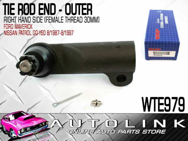 WASP TIE ROD END FRONT OUTER RIGHT HAND FOR FORD MAVERICK 4WD 1988 - 1994 x1
