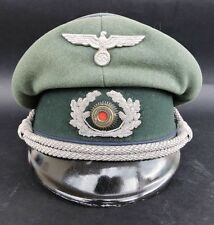 Excellent ORIGINAL German WW2 Army Medical Officers Visor Cap