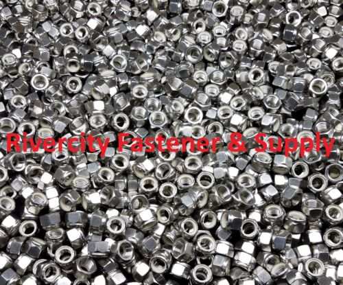 15 7//16-20 Stainless Steel Nylon Insert Lock Hex Nut  Fine Thread UNF 7//16x20