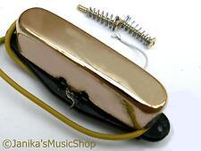 Oro pastillas de cuello para montaje de golpeador De Telecaster Guitarra Nueva-Reino Unido Vendedor