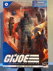IN HAND READY Hasbro G.I. Joe Classified Series Cobra Infantry Action Figure New