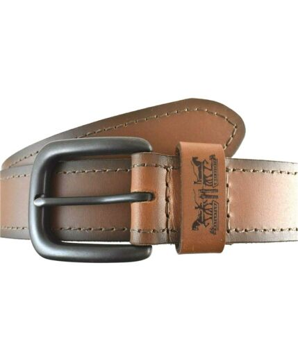 Levi/'s Mens Leather Casual Belt