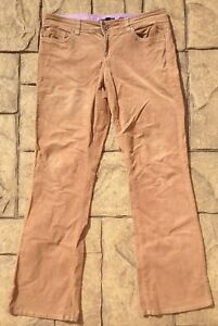 ca260b96b1e88 Image is loading Tommy-Hilfiger-Women-039-s-Brown-Corduroy-Trousers-