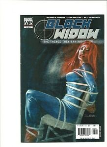 Black Widow #5 The Things They Say About Her Marvel Comics (2005) Bondage cover