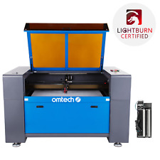 Omtech 100w Co2 Laser Engraver Cutter Etcher With 24 X 40 Inch Bed Rotary Axis A