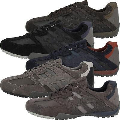 GEOX U Snake E Schuhe Men Herren Low Cut Sneaker Freizeit Halbschuh U8207E022MEC   eBay