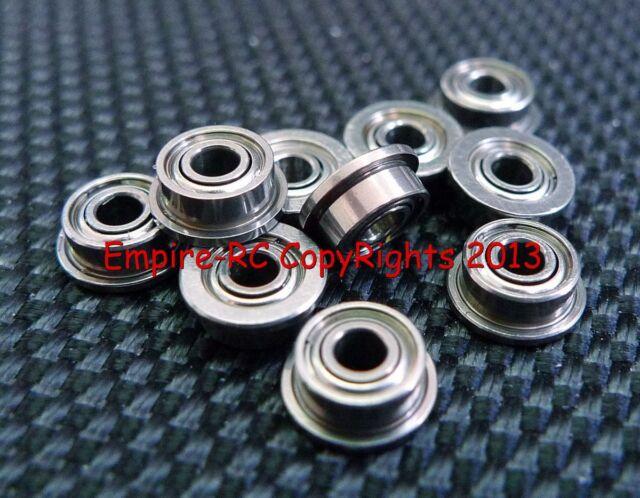 1.5x4x2 mm 4 PCS Flange Metal Double Shielded Ball Bearings 1.5*4*2 F681xzz