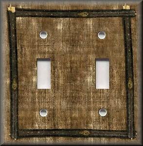 Image Is Loading Metal Light Switch Plate Cover Framed Design