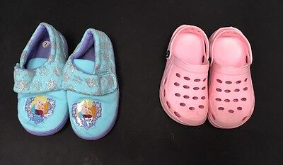 Girls Shoes Double Pack. Size 12. Disney. <A5325