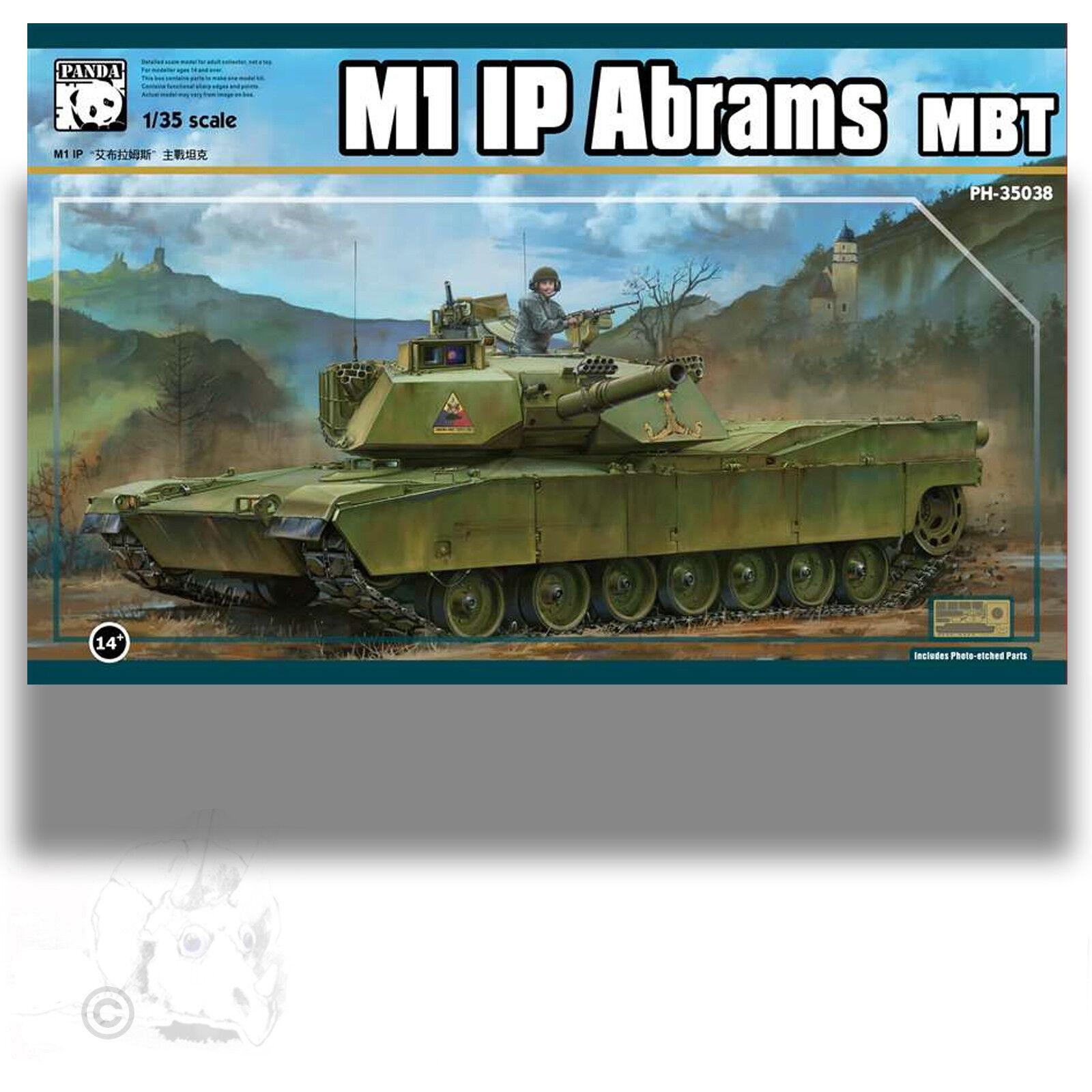 PANDA 1 35 M1 IP ABRAMS MBT MAIN BATTLE TANK MODEL KIT 35038