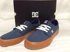 DC Men's Skate Shoes, Trase TX, size 5, Dark Denim/gum