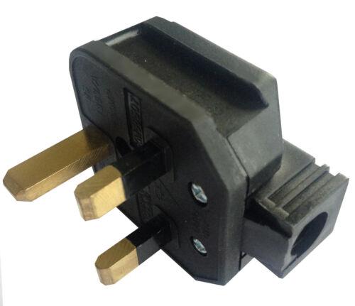 10 x BG Permaplug 13A Hard Rubber Heavy Duty Plug 13A Fused