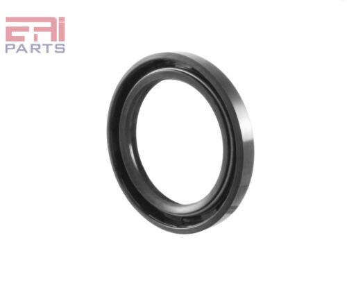 Oil Seal 40X55X7mm TC Metal Case w// NBR Coating EAI Double Lip w// Spring