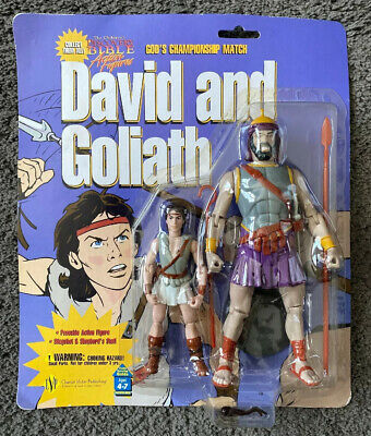 VINTAGE DAVID AND GOLIATH DAVID BIBLICLE ACTION FIGURE | eBay |David And Goliath Action Figures