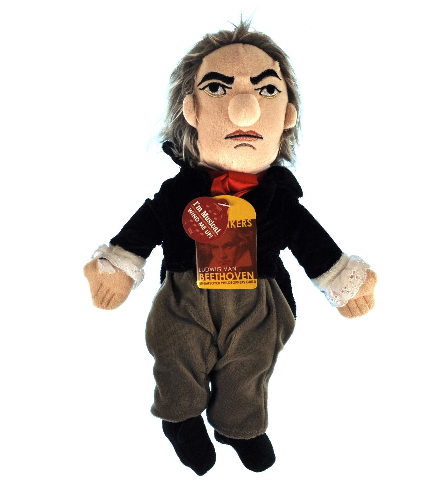 Beethoven Plüschtier - Little Denker Puppe - Spielt Musik