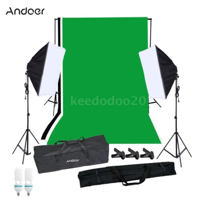 Andoer Studio Photography Softbox Lighting Kit Photo Video Equipment NEW T5I4