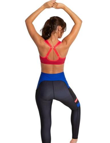 Pour Moi Energy Zip Front Sports Bra 97006 High Impact Sports Bras Red//Cherry