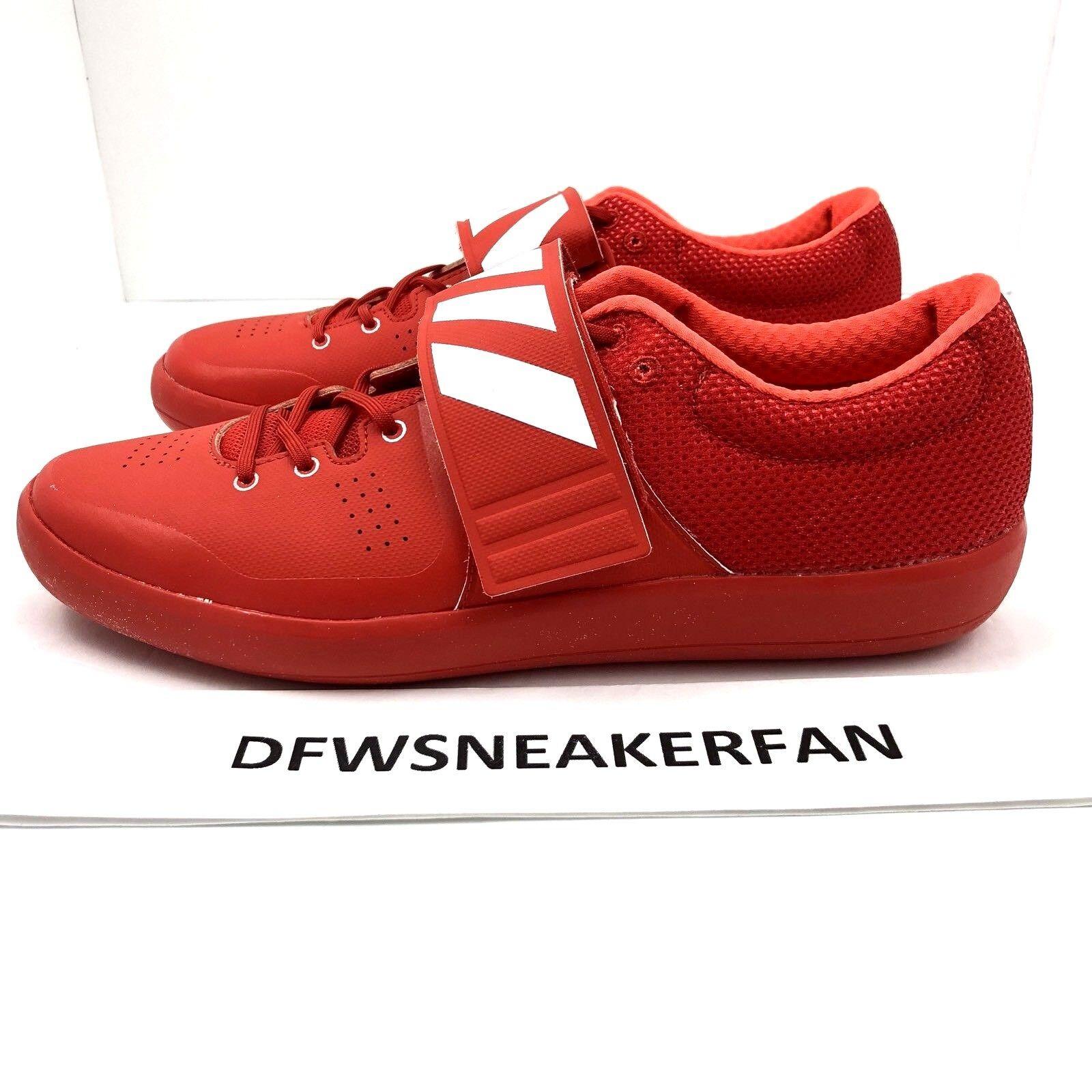 Nuevo adidas adizero Rio shotput bb4118 2 disco martillo Rojo bb4118 shotput SZ 10,5 zapato de la pista 4f4ed0