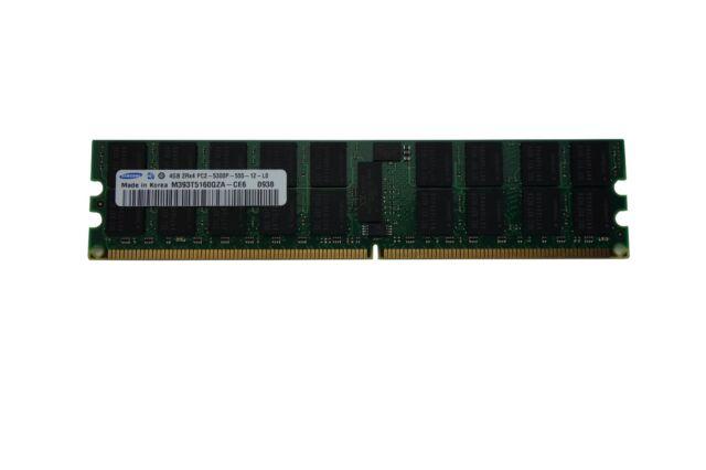 Samsung 4GB DDR2-667 PC2-5300P ECC Registered Server Memory M393T5160QZA-CE6