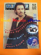 Rivista MUCCHIO SELVAGGIO 215/1995 Springsteen Bowie Smashing Pumpkins No cd