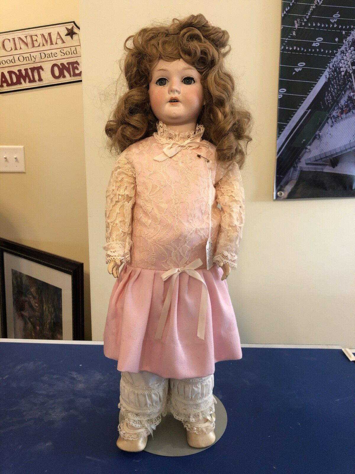 German Antique Doll- CM Bergman